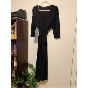 Zara Black Maxi Dress